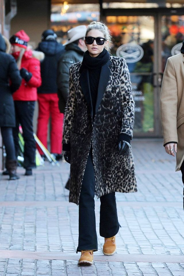 Gigi Hadid and Dakota Johnson Are Putting Timberland Boots Back On the Map