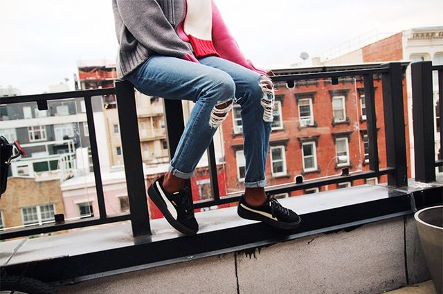 London Model Leomie Anderson Rates This Seasons Coolest Sneakers