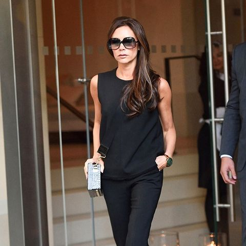 2019 year style- Why Victoria Beckham Is Giving Up Heels for Sneakers