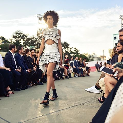 Inside Louis Vuittons Rio Show With Super-Blogger Sofie Valkiers