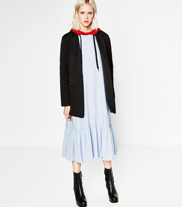 Zaras Cheaper Line Is Suddenly So Edgy, Its Almost Unrecognisable picture