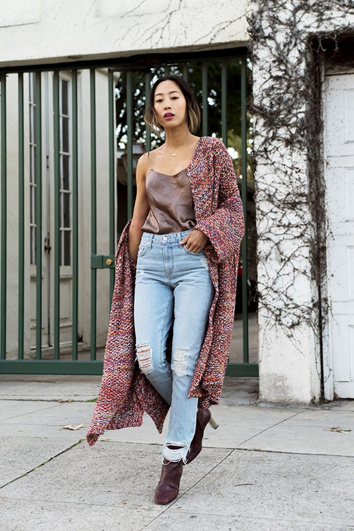15 Ways To Wear A Long Cardigan At Work In Winter