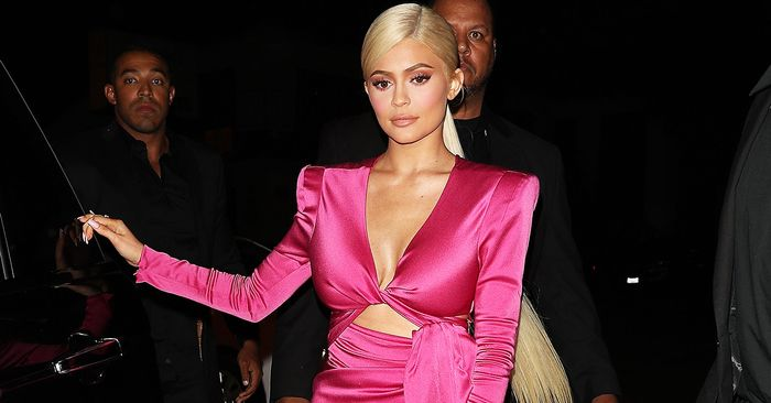 Kylie Jenner Wore a Barbie Dress and a Unitard to Ring in Her 21st Birthday