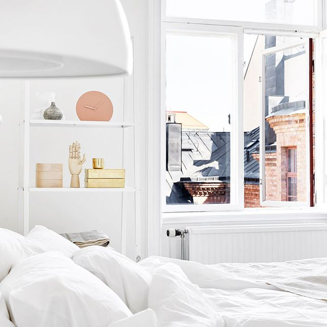 Inside a Completely Dreamy Pink-and-White Abode