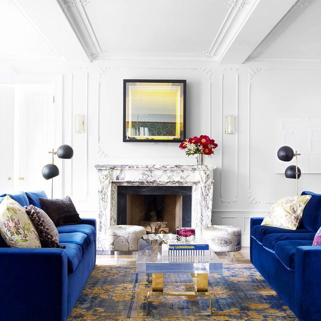 A Glamorous New York Apartment With a Dash of Drama