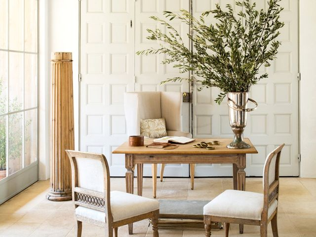 Inside an Elegant, Rustic Farmhouse Near Ojai
