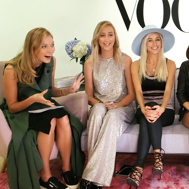 Karlie Kloss Grills YouTube Stars About Building an Online Brand