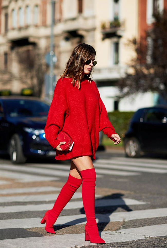 How To Wear Over The Knee Boots And Look Stylish Who