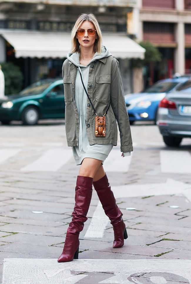 7ff970f2896 How to Wear Over-the-Knee Boots and Look Stylish