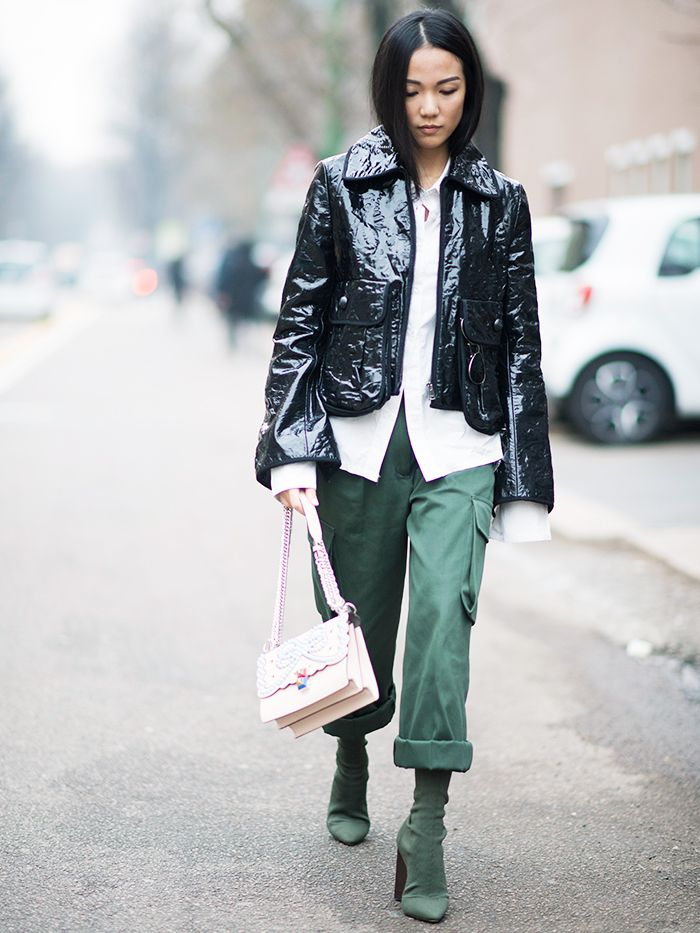 how to wear a leather jacket—leather jacket outfits  who