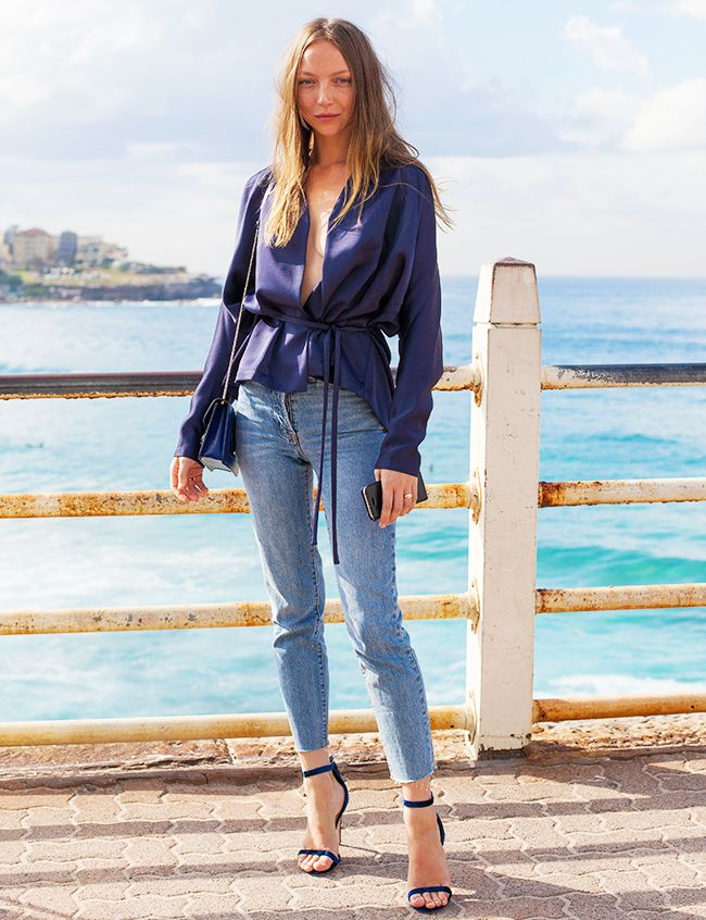 the latest 2bc57 f063b How to Dress Up Your Jeans | Who What Wear UK