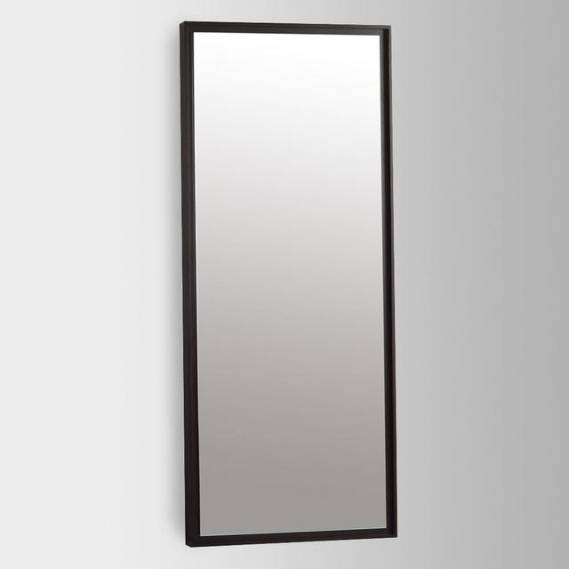 West Elm Floating Wood Wall Mirror