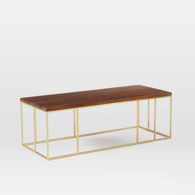 West Elm Grid Frame Coffee Table
