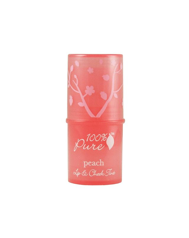 100% Pure Lip & Cheek Tint in Peach Glow