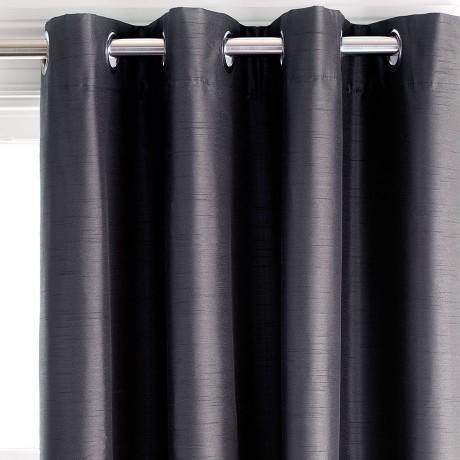 Freedom Aberdeen Slate Blockout 140x230cm Eyelet Curtain