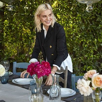 Phoebe Dahl Hosts a Perfectly Eclectic Garden Party