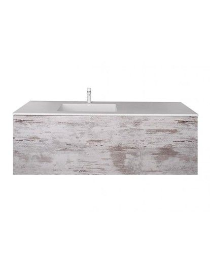 Reece Left Hand Bowl Vanity Unit
