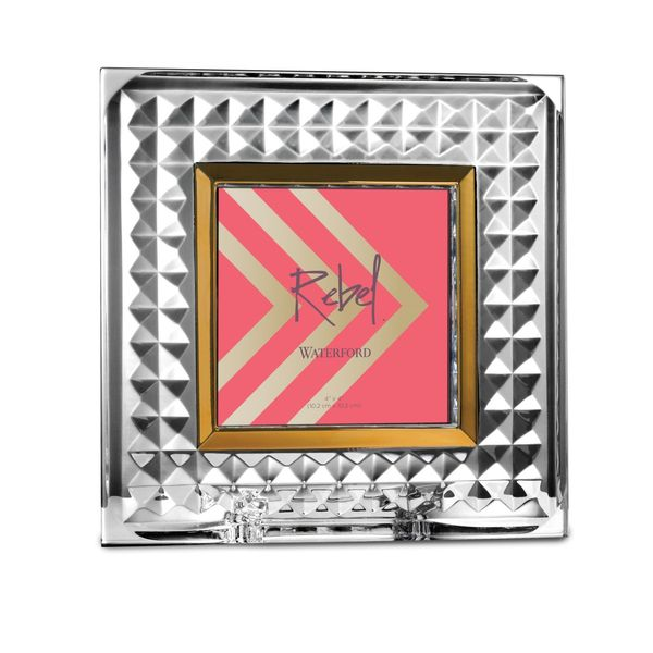 Waterford Crystal Rebel Picture Frame 4 X 4