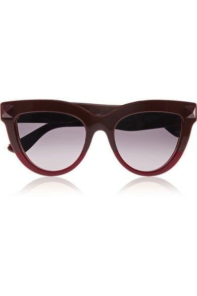 Valentino Rockstud cat-eye acetate sunglasses