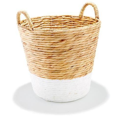 Kmart White Dipped Basket