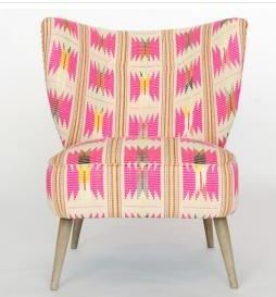 Ruby Star Traders Indochine Low-Back Chair