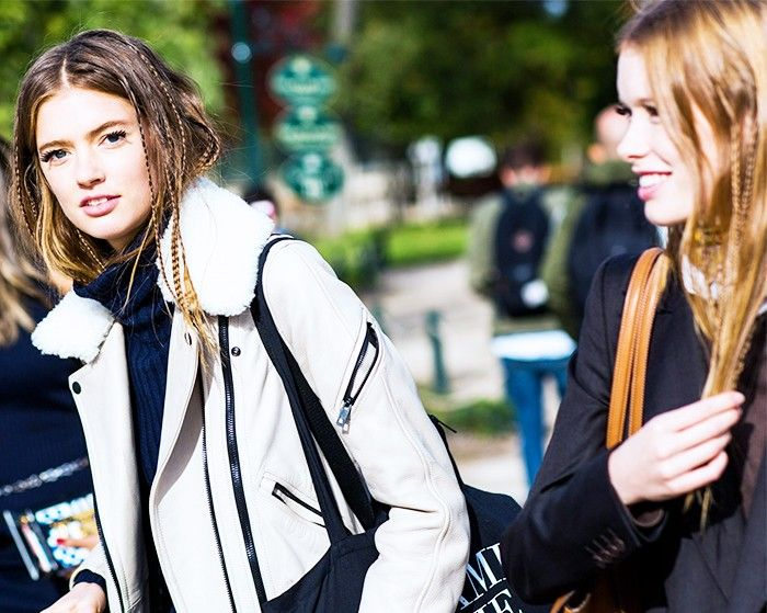 What Off-Duty Models Wear to Get Noticed