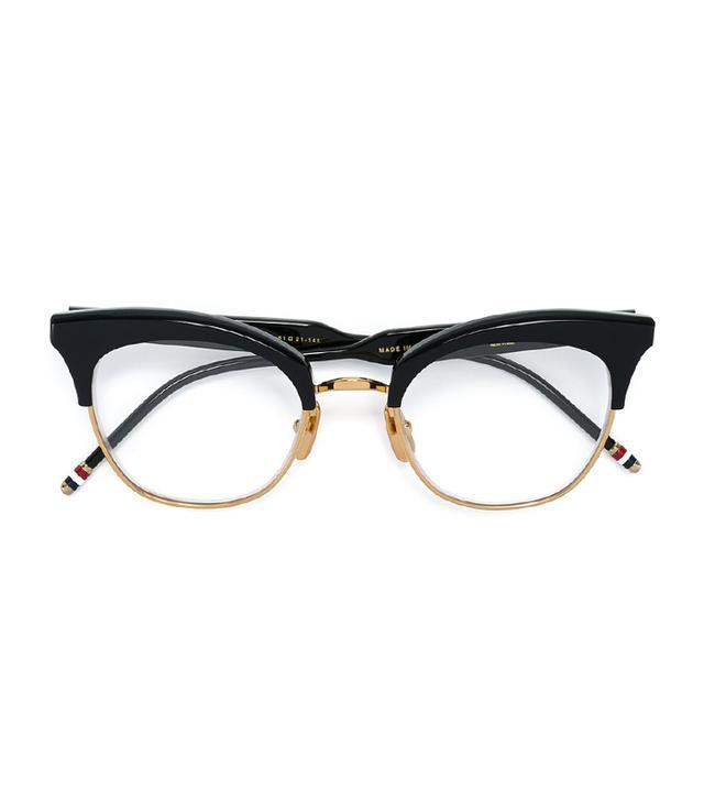 71e00bfea91 Thom Browne Cat Eye Shaped Frames