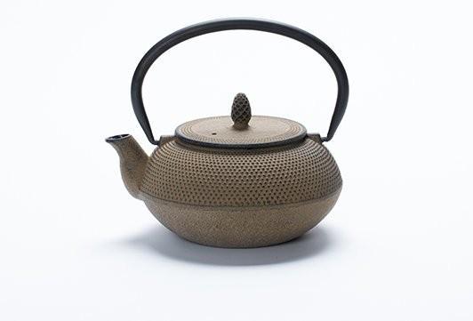 T2 Tea Rich Fruity Booty Nail Head Brown Teapot