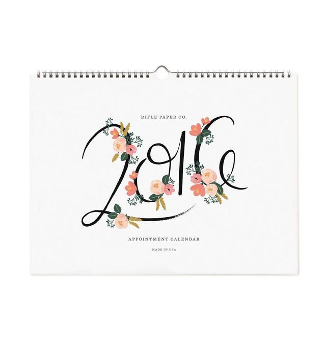Rifle Paper Co. 2016 Wall Calendar