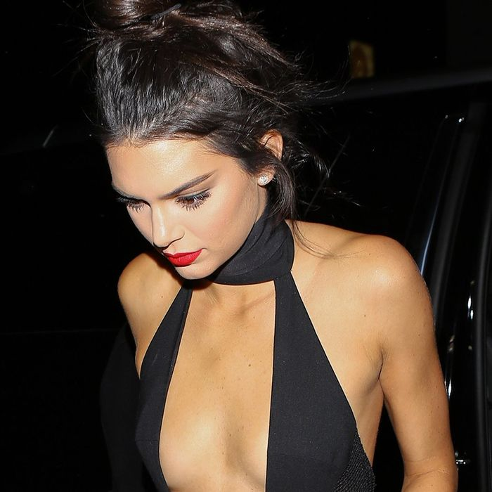 Kendall Jenner Wore A Sheer Jumpsuit At Her Birthday Party Who