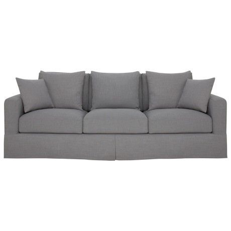 Freedom Benson Grand (Loose) 3 Seat Sofa in Arden Donkey