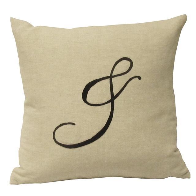Busatti Embroidered Cushion