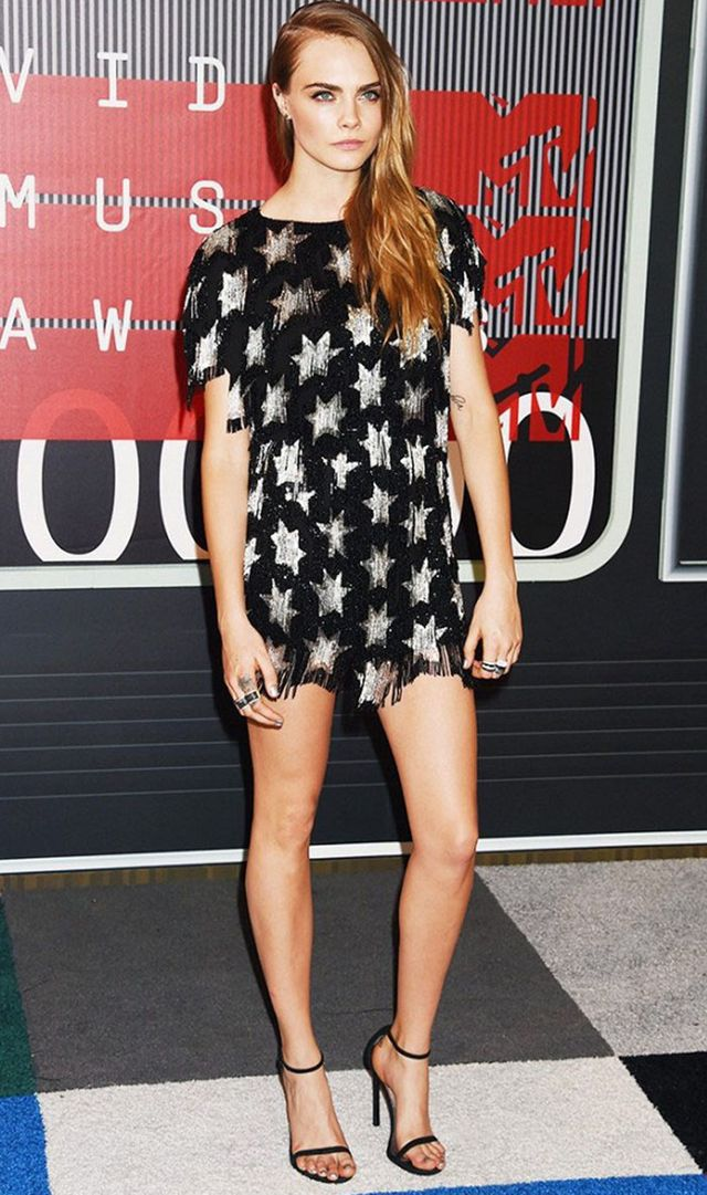 Cara Delevingne New Years Eve outfit idea