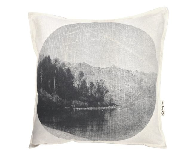 Pony Rider Soft Forest Cushion