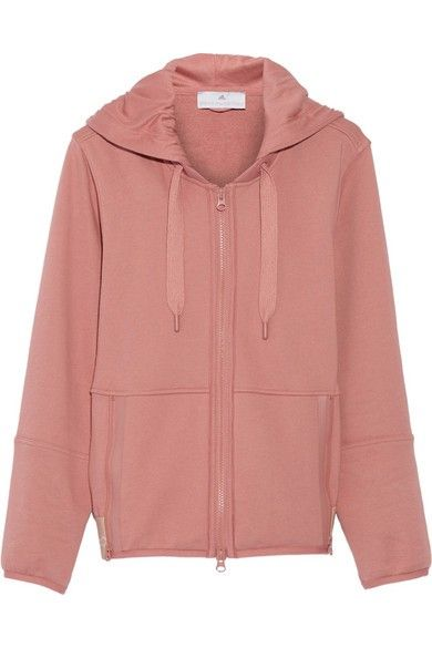 Adidas by Stella McCartney Essentials cotton-blend hooded top