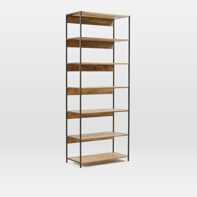 West Elm Rustic Modular 84cm Bookshelf
