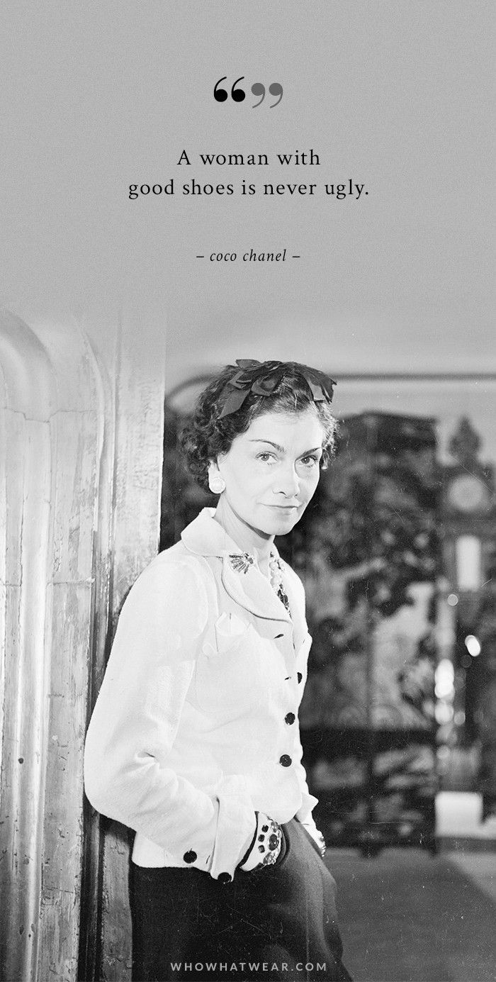 A Womans Ideal Wardrobe According To Coco Chanel