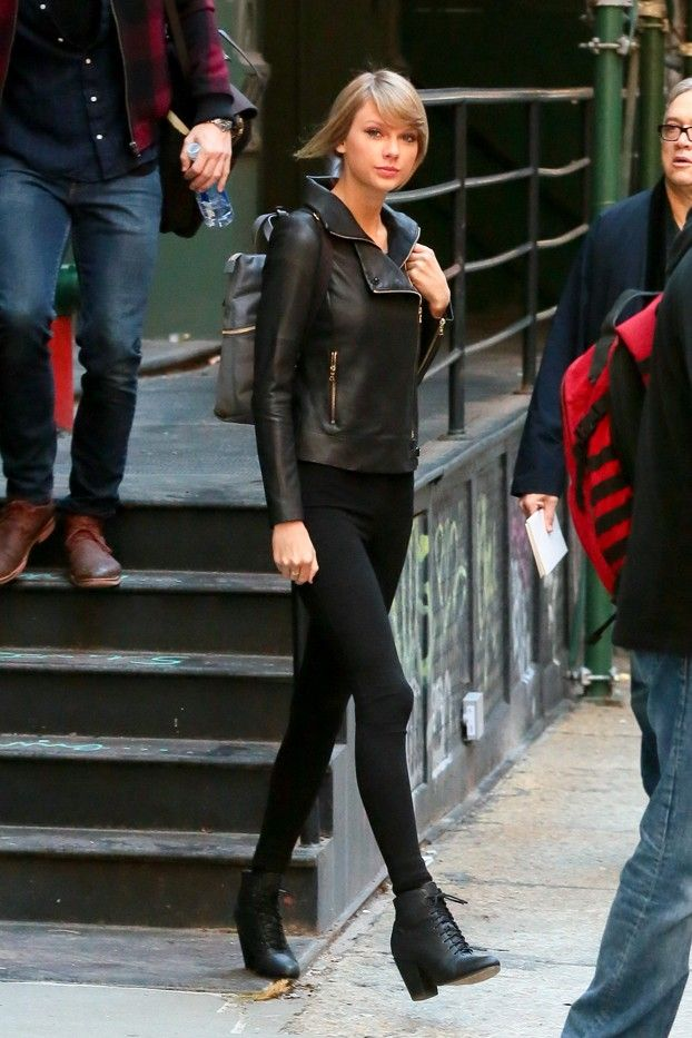 How Your Favorite Celebrities Wear Moto Jackets Who What