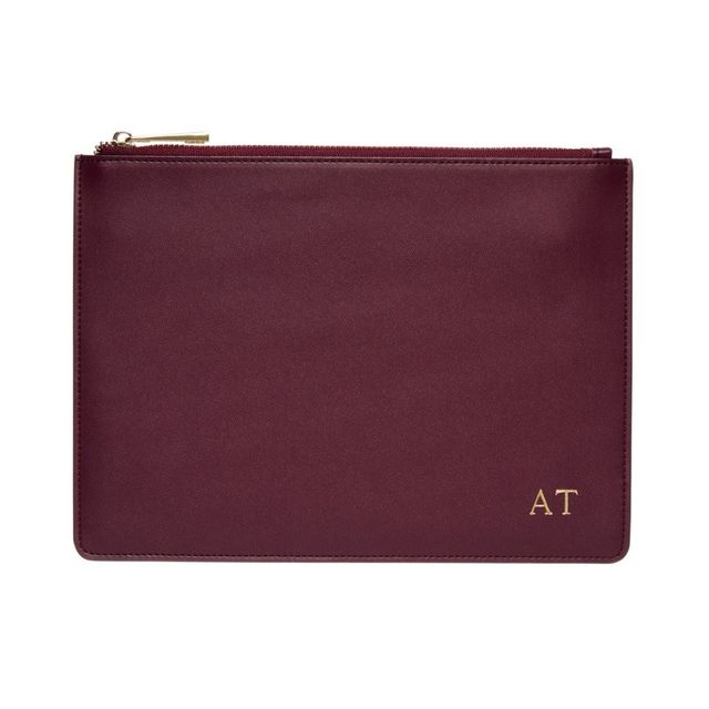 The Daily Edited Smooth Leather Pouch