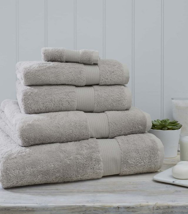 The White Company Luxury Egyptian Cotton Jumbo Towel
