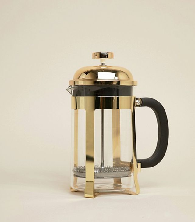 Premier Cafetiere Mimo With Gold Finish