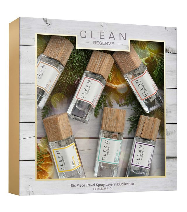 Clean Reserve Six Piece Fragrance Layering Set