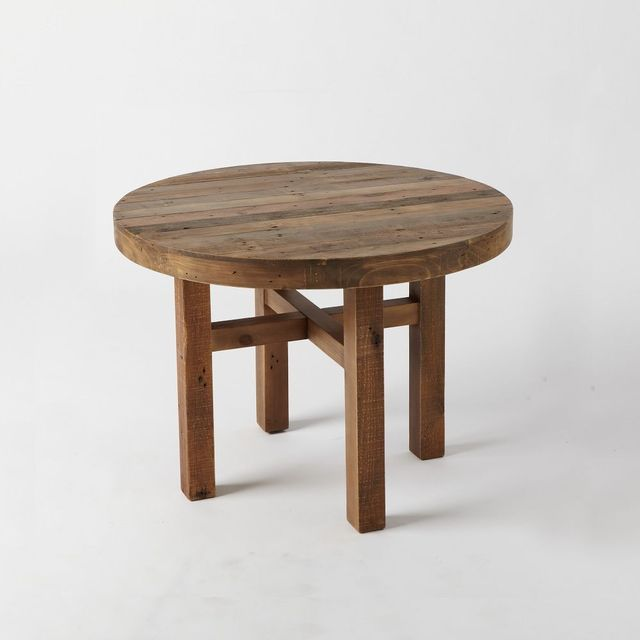West Elm Emmerson Reclaimed Wood Round Dining Table