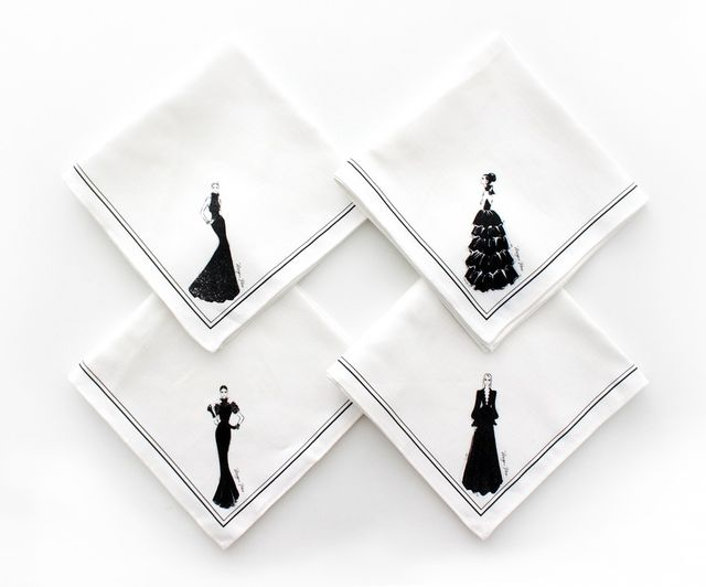 Megan Hess Couture Show Napkins Pack of 4