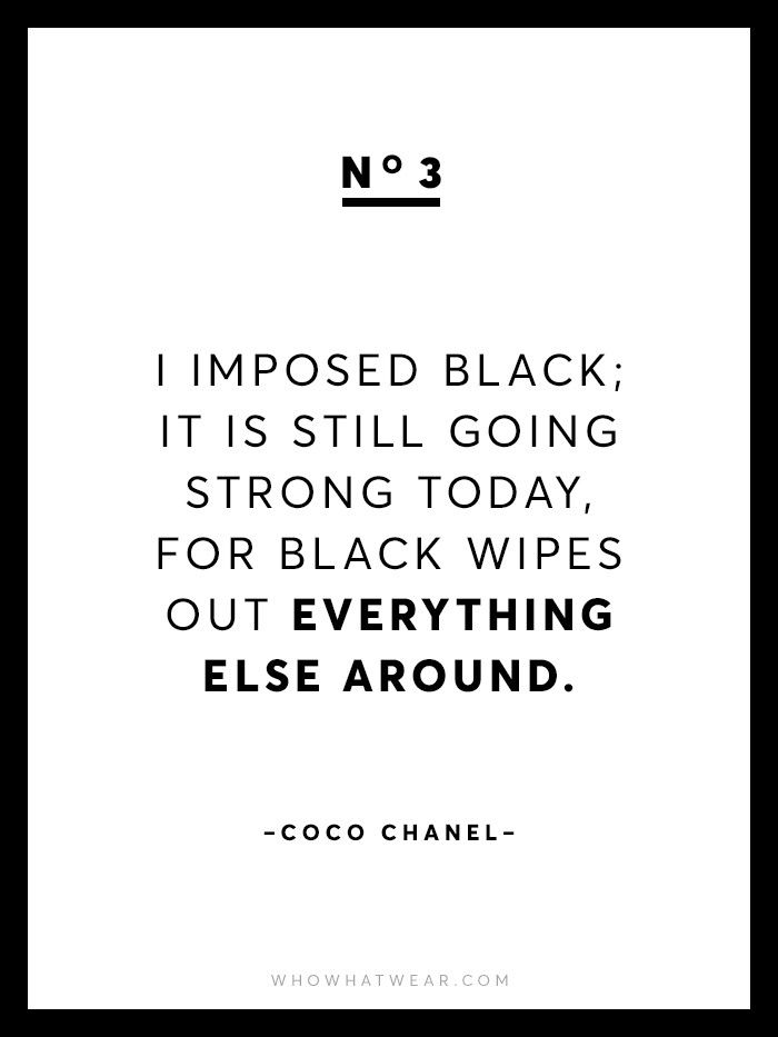 Chanel Quotes Simple 48 Rare Coco Chanel Quotes Who What Wear