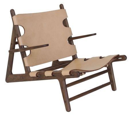 Matt Blatt Leather Chair