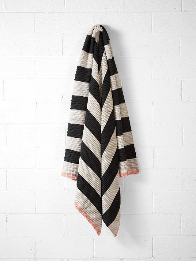 Aura Home Stripe Throw