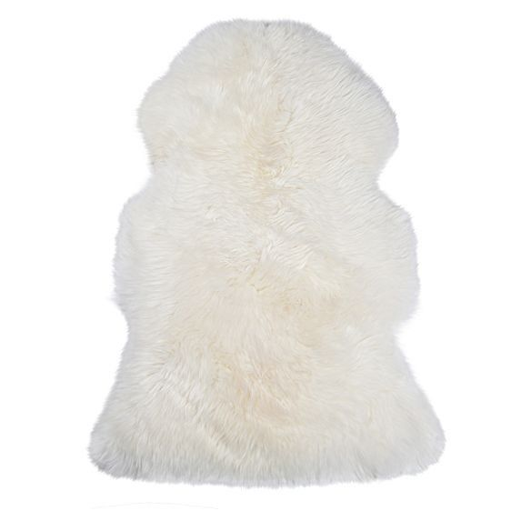 Zanui Sheepskin Animal Hide Rug