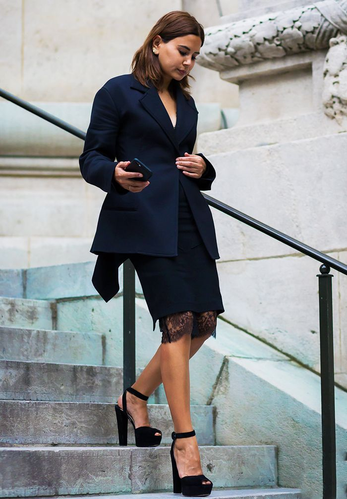 Pinterest - This Is Exactly What To Wear To A Winter Wedding Who What Wear UK