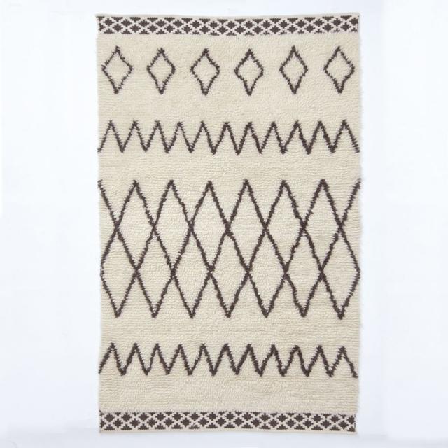 West Elm Kasbah Wool Rug - Ivory